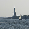 View of Statue of Liberty from the Esplanade