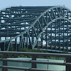 Piscataqua River Bridge on the Massachusettes and New Hampshire State Line