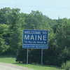 Crossing Maine State Line